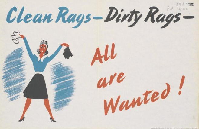 File:Clean Rags - Dirty Rags Art.IWMPST14755.jpg