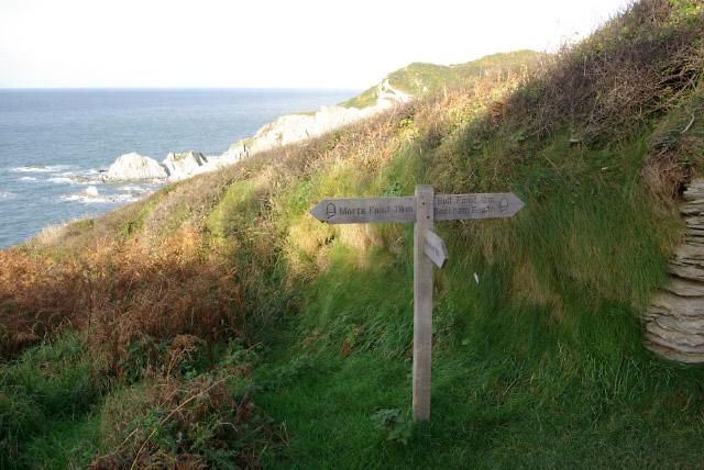 Coastal Paths, near Mortehoe - geograph.org.uk - 609381