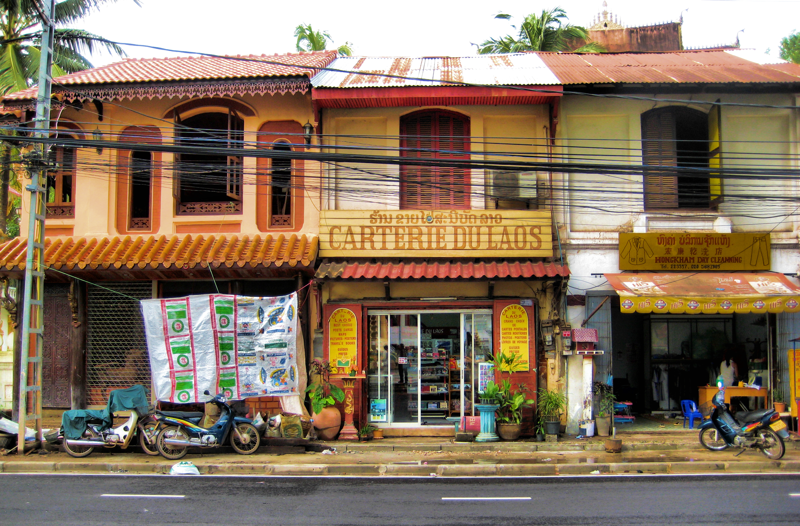 File Colonial Buildings Old And New In Vientiane 1489835247 Jpg