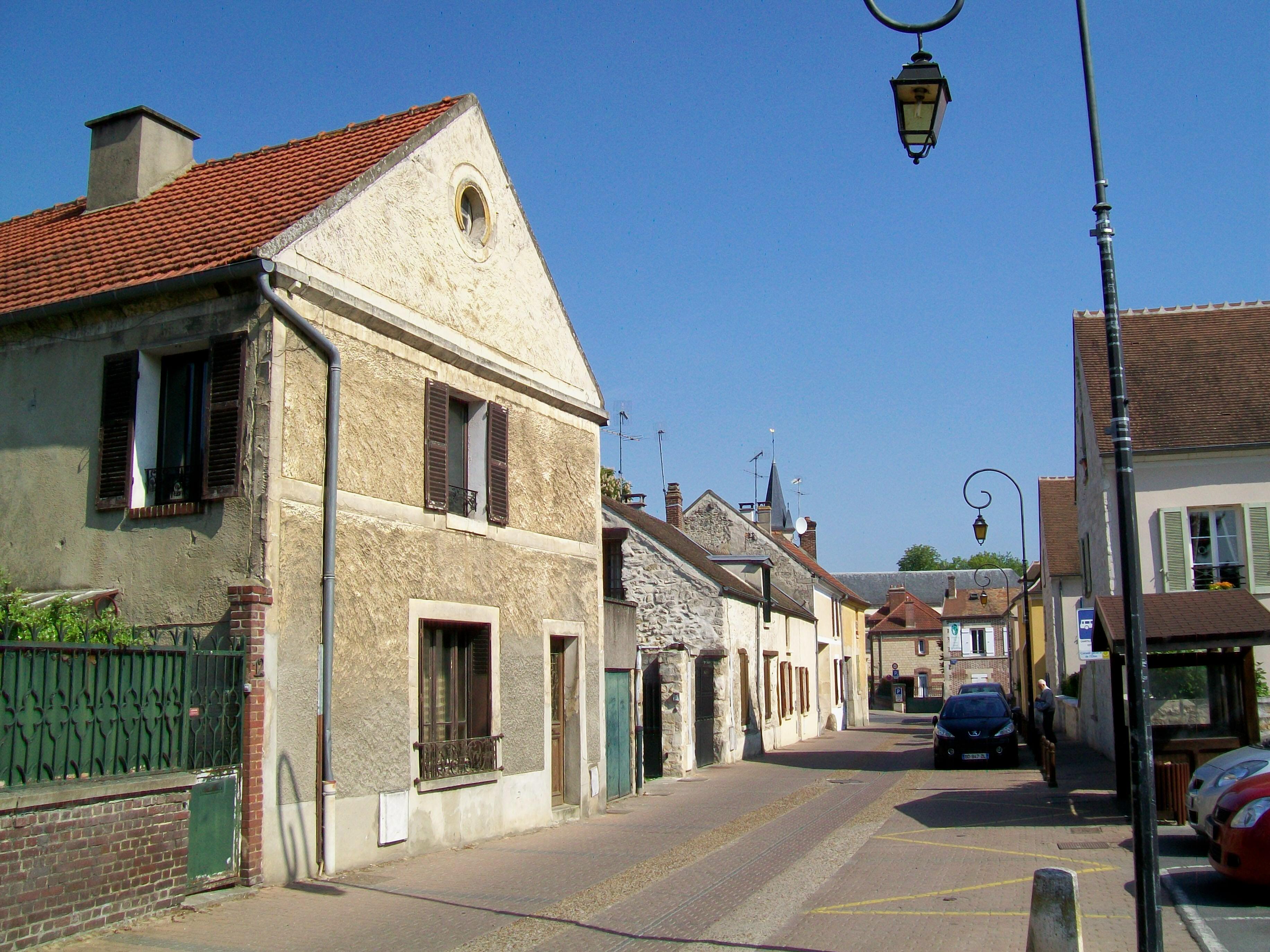 Rue D H Ef Bf Bdrivaux  Orry La Ville