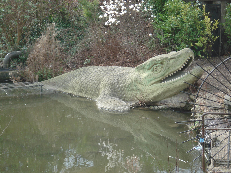Crystal Palace Mosasaurus Wikimedia Commons