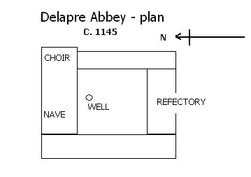 Delapre Abbey Plan.jpg
