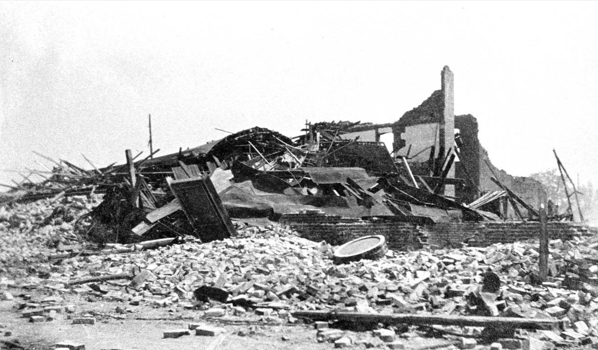 File:Destroyed building, 1906 earthquake, Santa Rosa ...