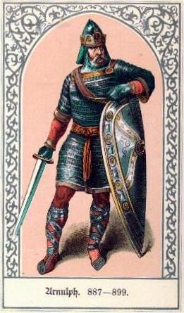 Die deutschen Kaiser Arnulph