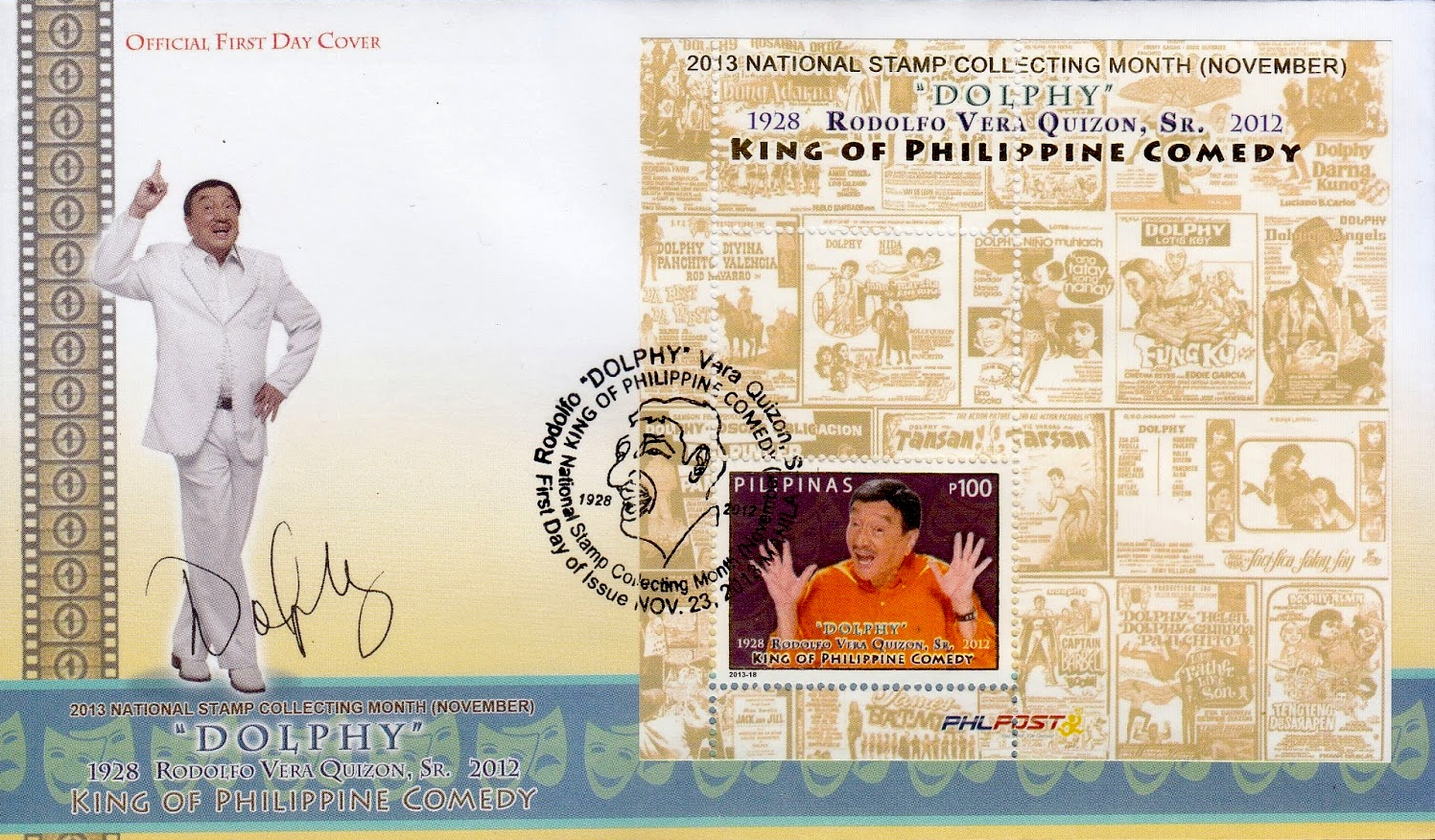Dolphy  Filipino actor and edian  19282012