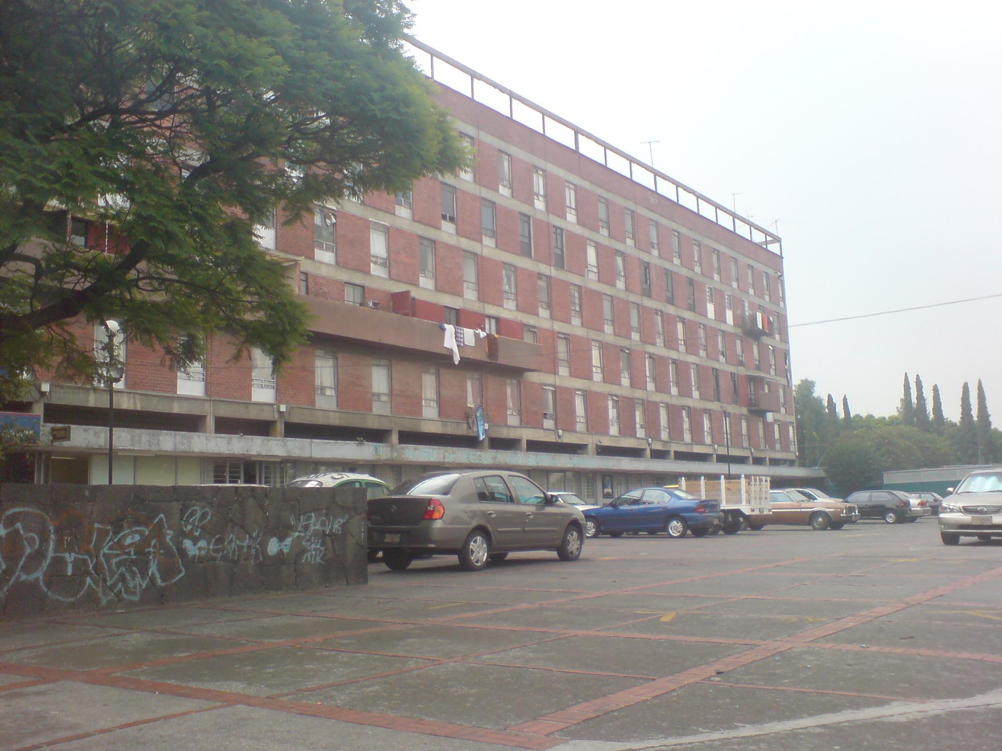 Descripción Edificio Unidad Habitacional Santa Fe.JPG