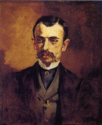 file edouard manet portrait of a man jpg wikimedia commons