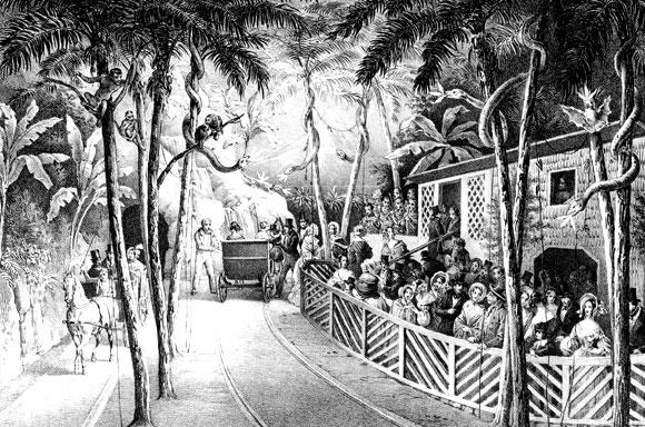 Elysium um 1840