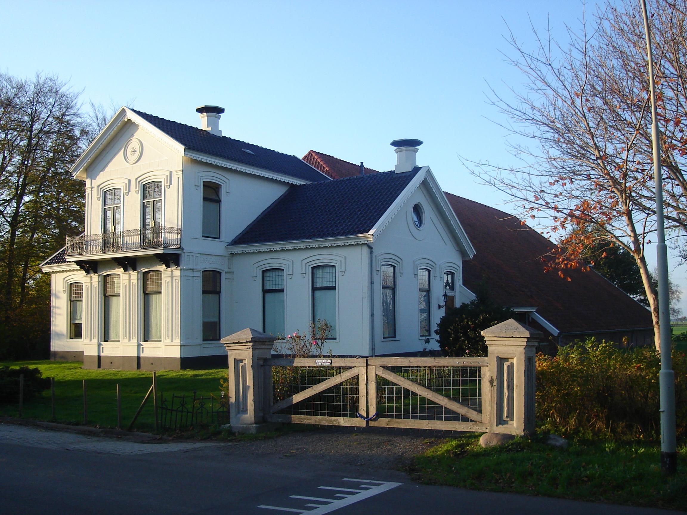 Bestand farmhouse oosterstraat scheemda netherlands jpg for Farm house netherlands