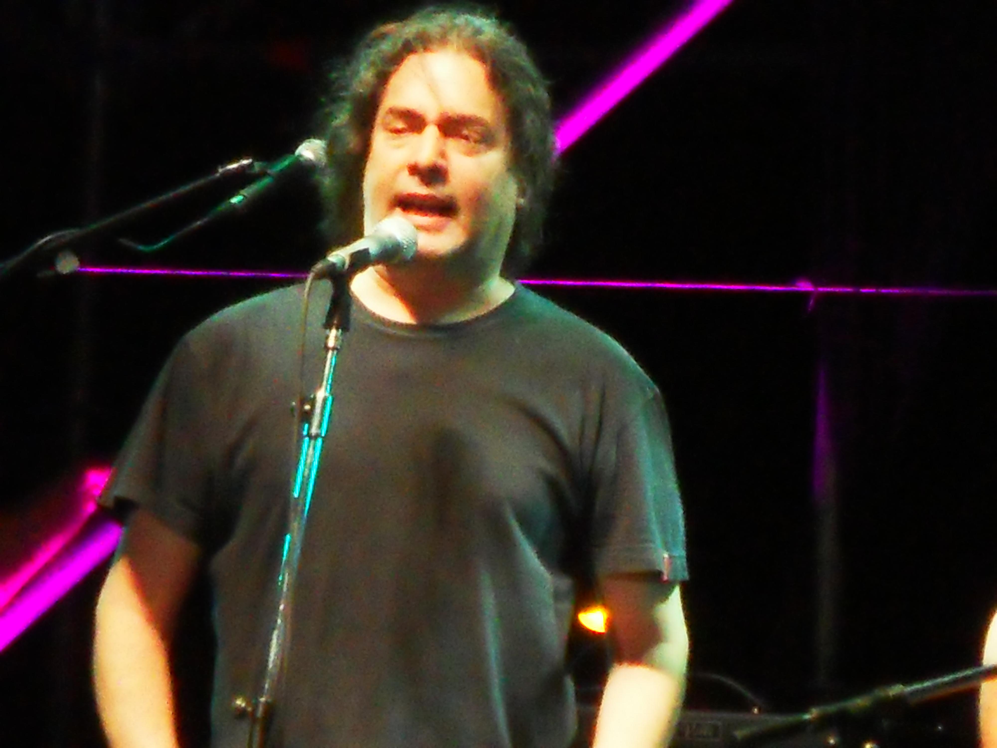 Fernando Barrientos en concierto. 15 de diciembre de 2013.