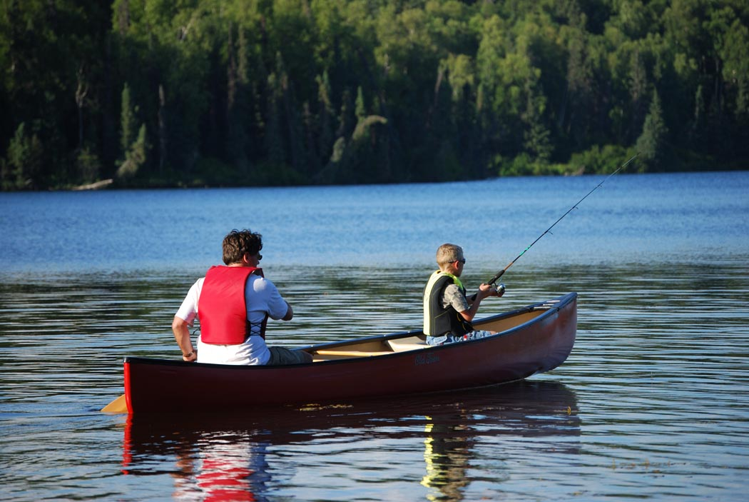 File Fishing From Canoe On Wikimedia Commons