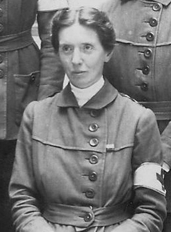 photograph of Flora Murray in 1914