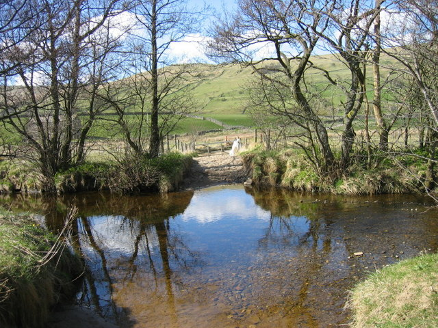 Ford through Raydale Beck - geograph.org.uk - 1260773