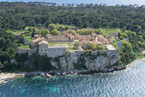 Fort Royal Sainte-Marguerite Island