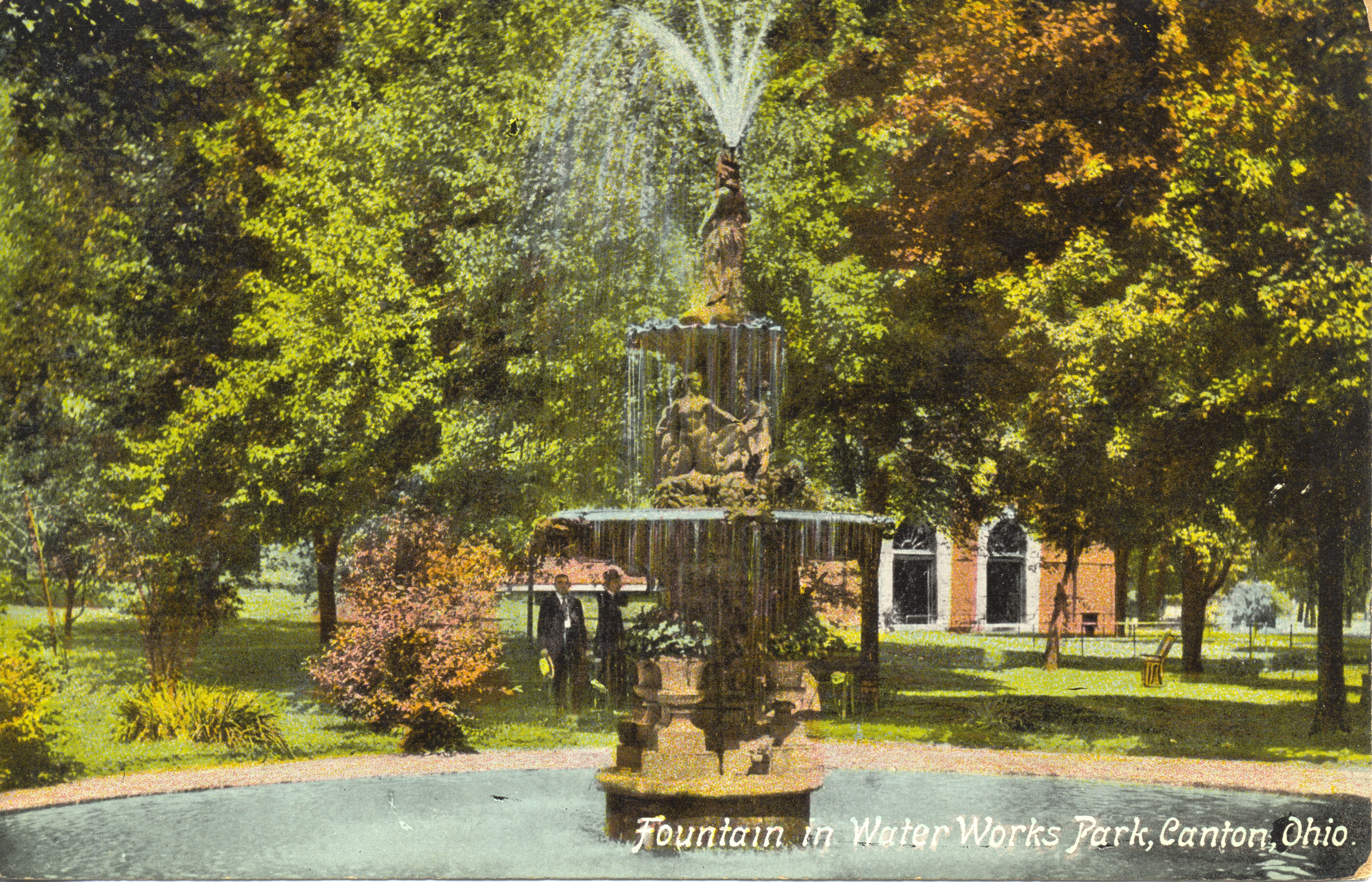 File:Fountain in Water Works Park, Canton, Ohio. (14067737196).jpg ...