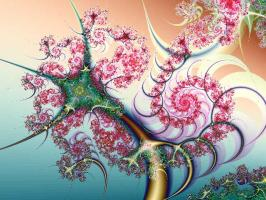 One of Fractal Pictures produced by mandelbrot...