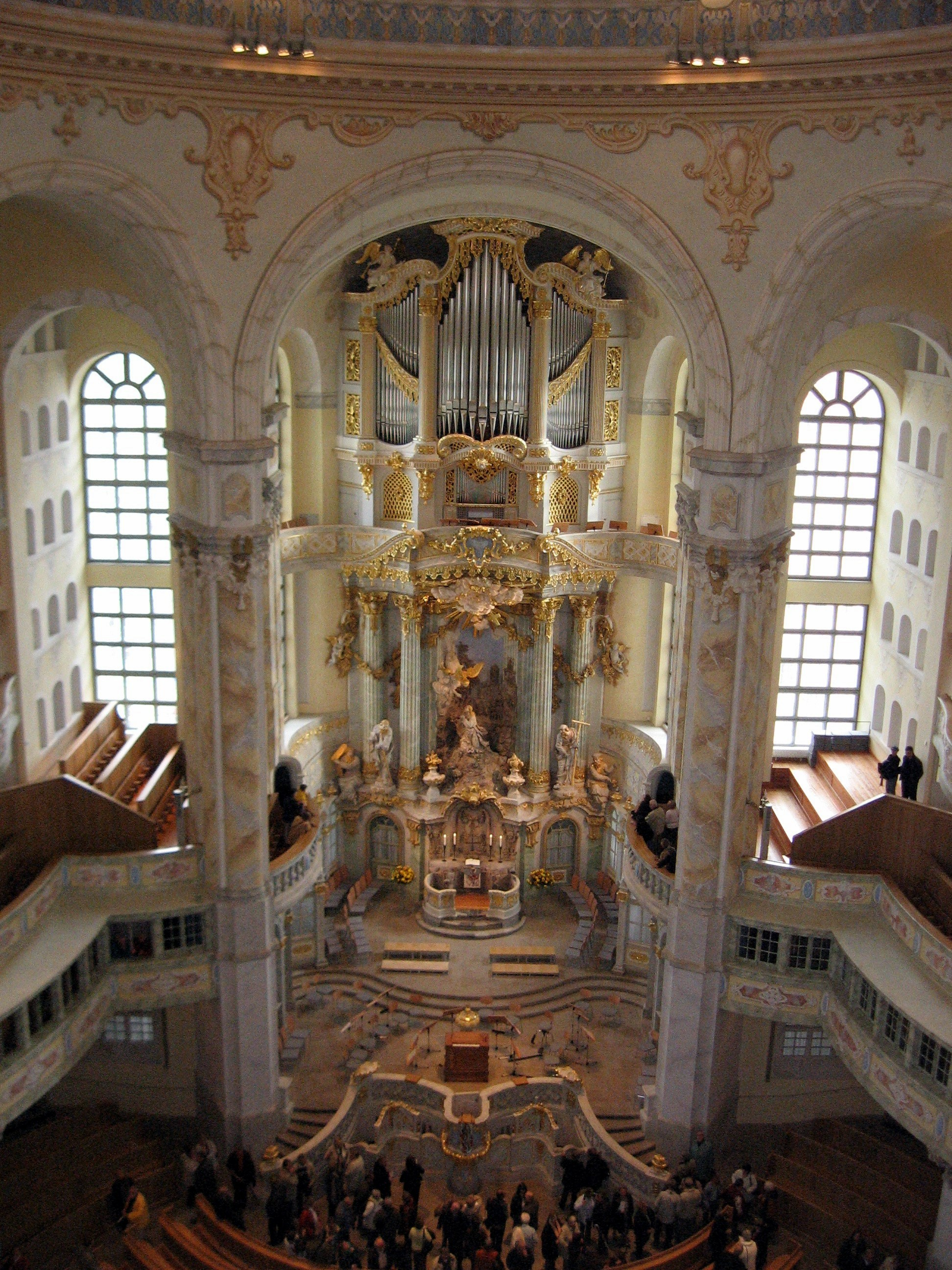 Frauenkirche, Innenansicht