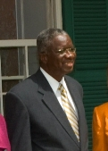 Freundel Stuart Prime Minister of Barbados