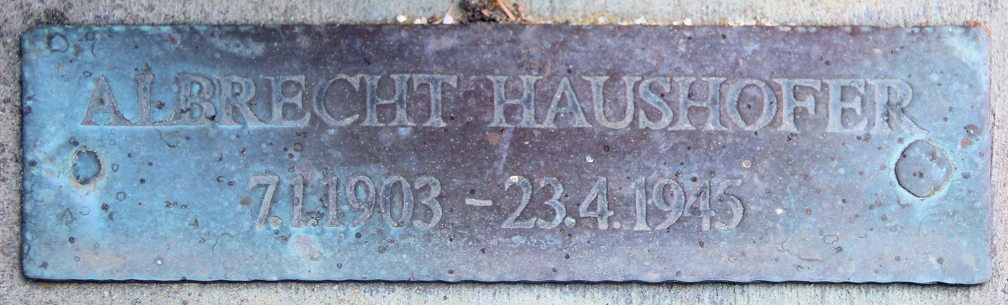 Image result for albrecht haushofer