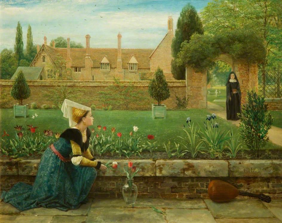 Джордж Данлоп Лесли - The Convent Garden.jpg
