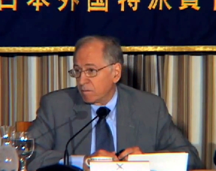 "Curtis talked about ""General Election Analysis & Japan's Political Future"" at the [[Foreign Correspondents' Club of Japan"