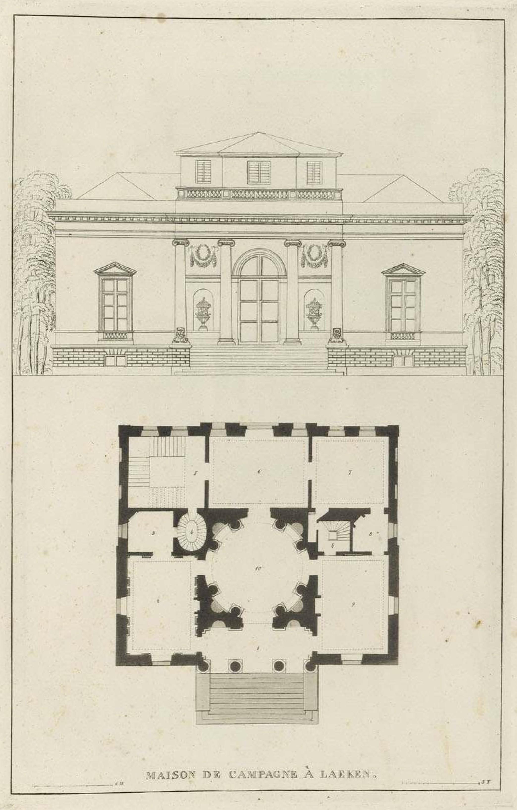 File goetghebuer 1827 choix des monuments 014 maison for Maison plan de campagne
