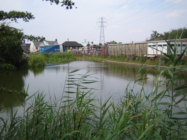 Grand Union Canal (Slough Arm) - geograph.org.uk - 210326