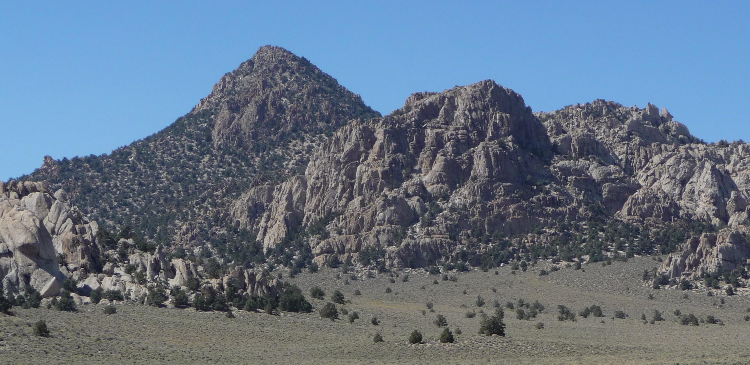 File Granite Mountain Mono County California Closeup