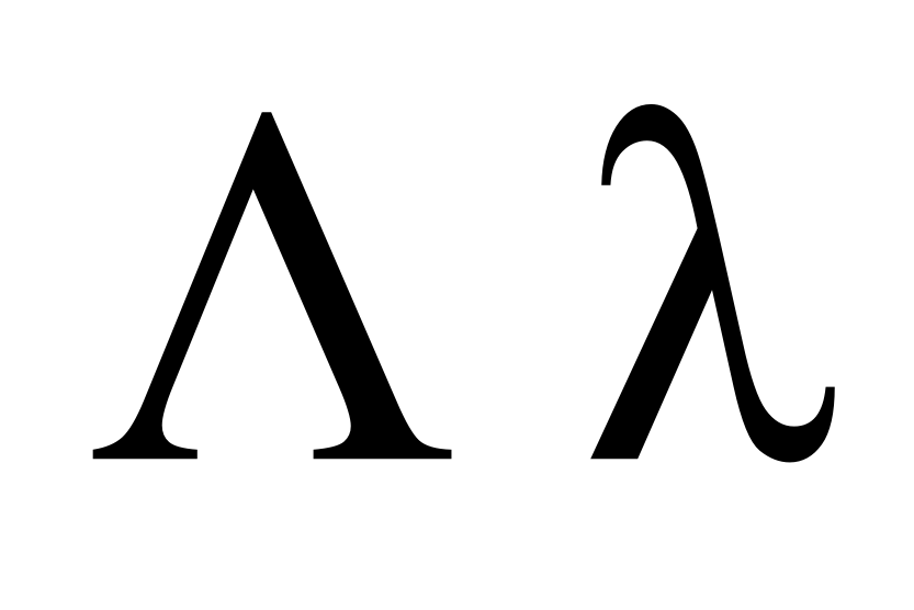 Mathematica Greek Letters