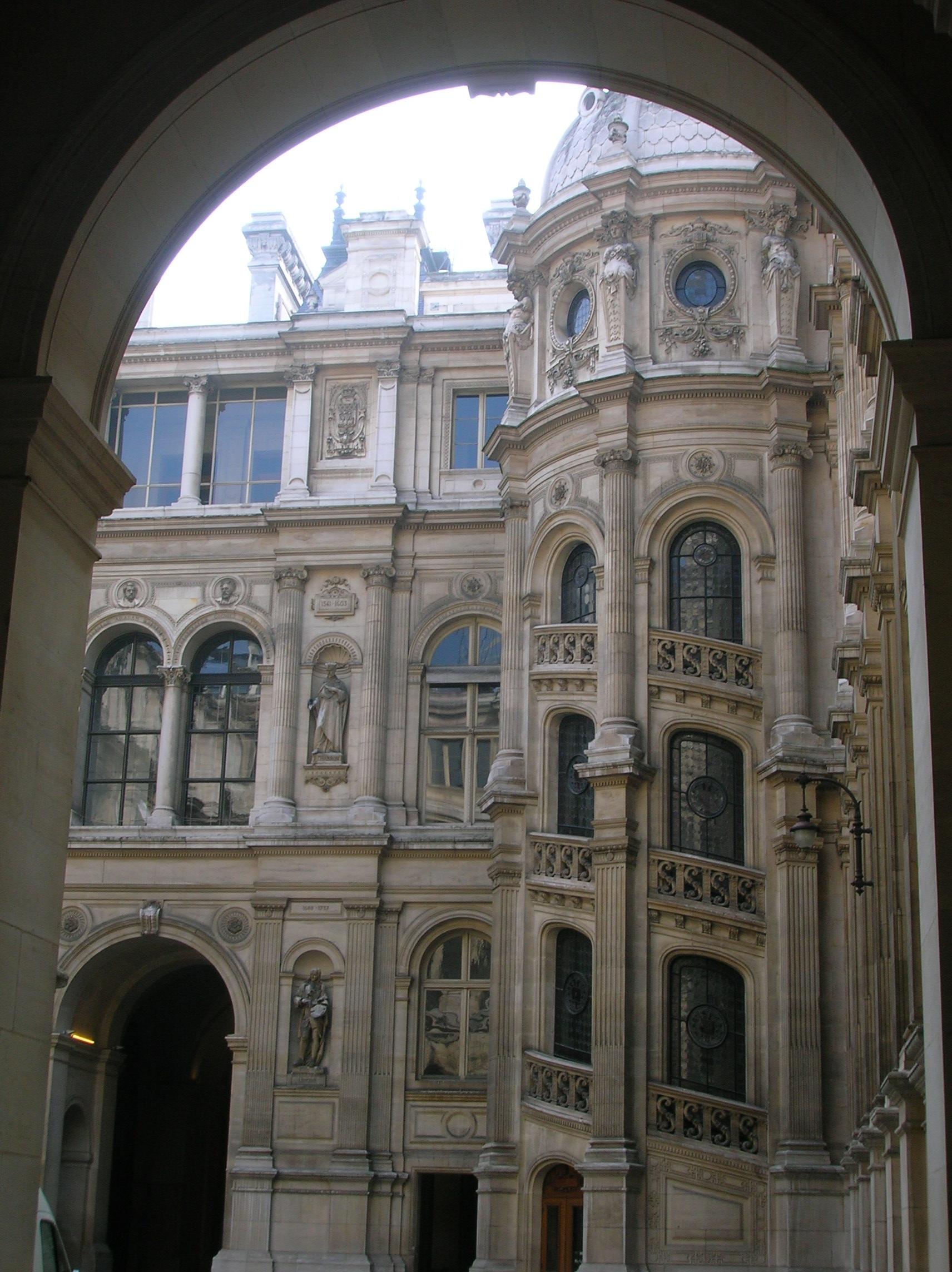 File h tel de ville paris yard jpg wikimedia commons for Hotel de ville