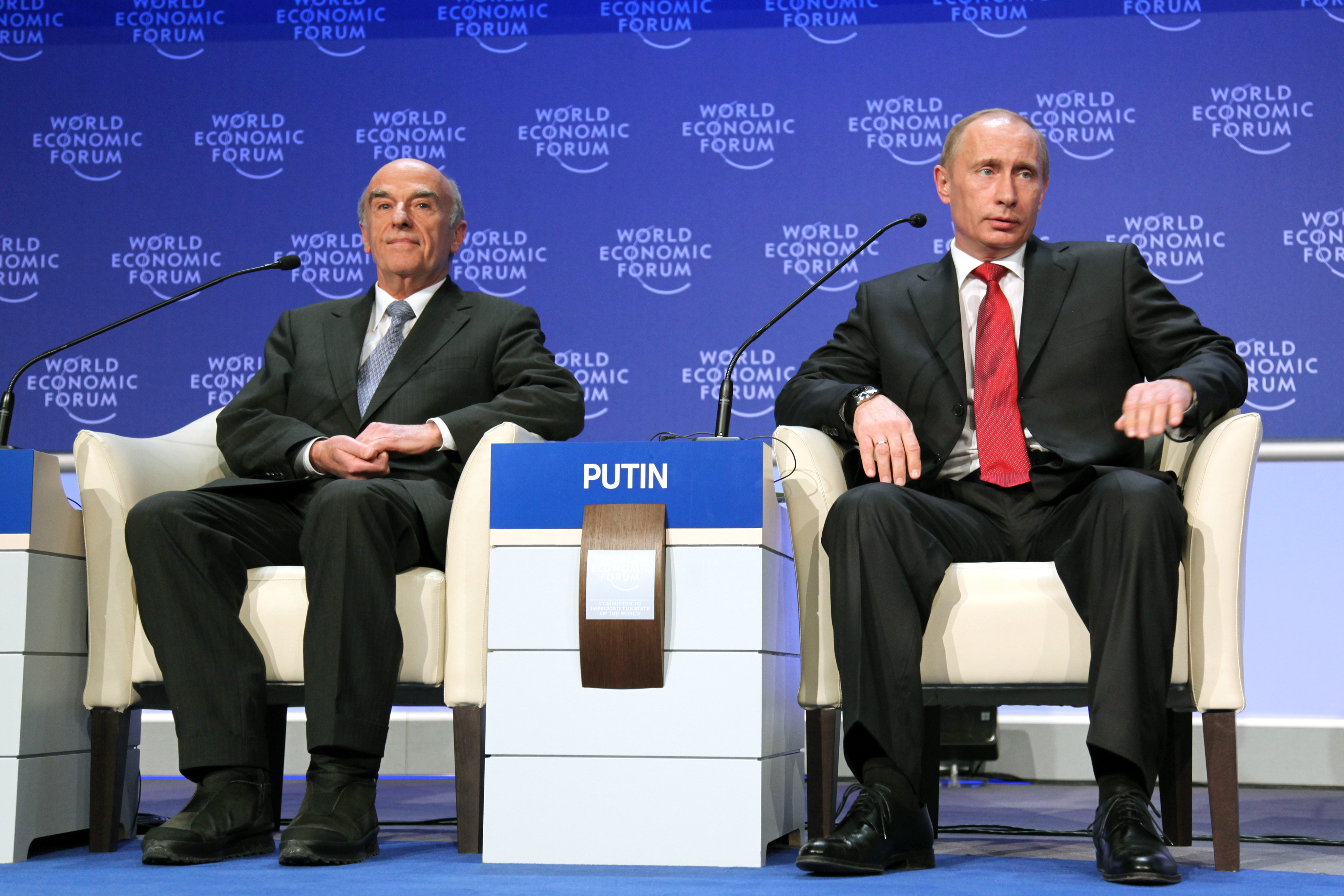 File Hans Rudolf Merz Vladimir Putin World Economic Forum Annual Meeting Davos 2009 Jpg Wikimedia Commons