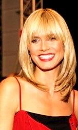 Frisuren für dünnes Haar, Heidi Klum