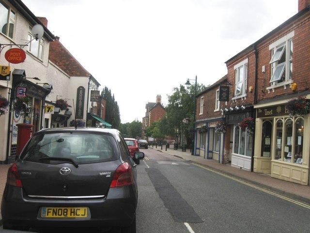 High Street, Edwinstowe - geograph.org.uk - 2501398