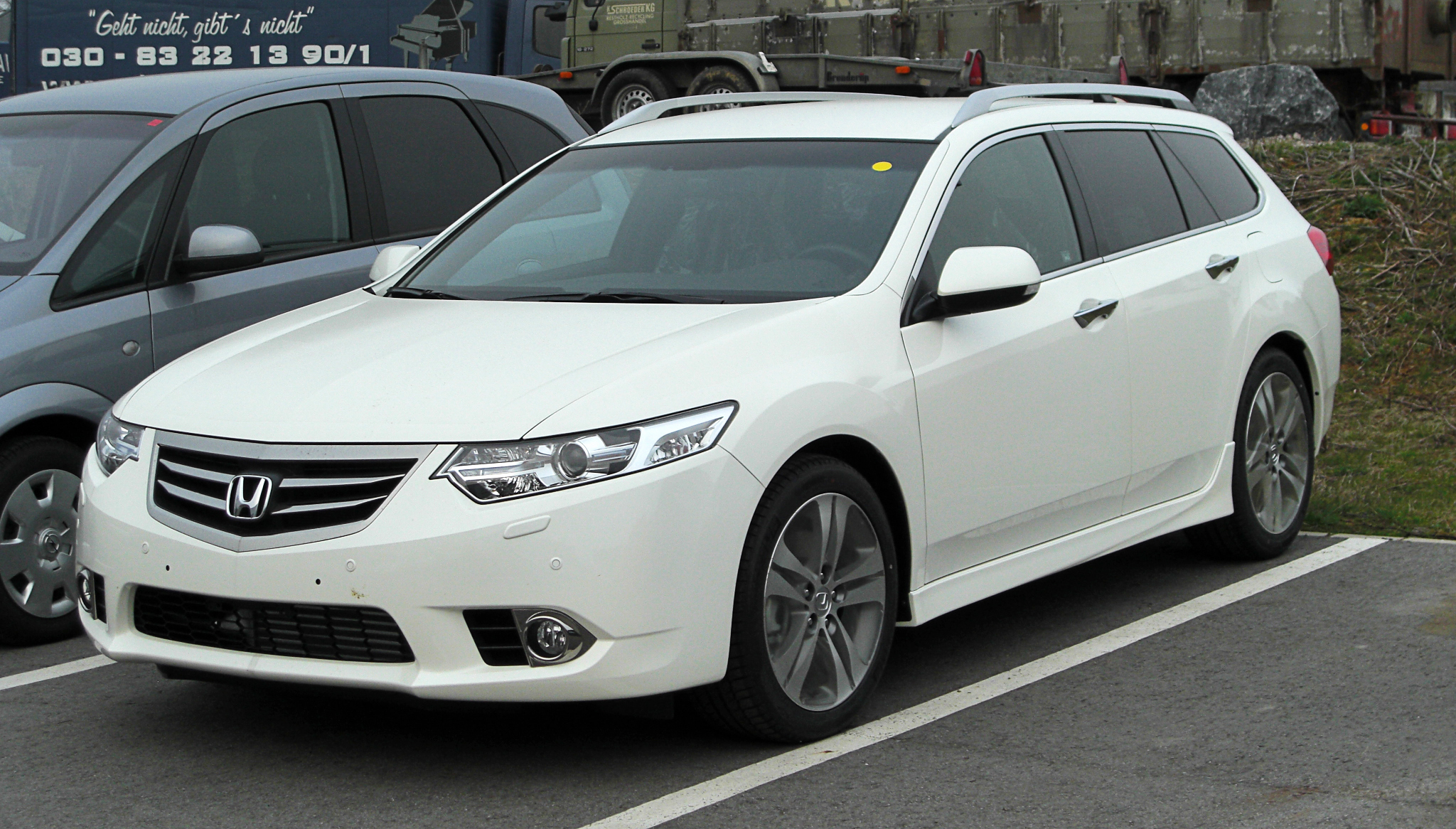 File Honda Accord Tourer Viii Facelift Frontansicht