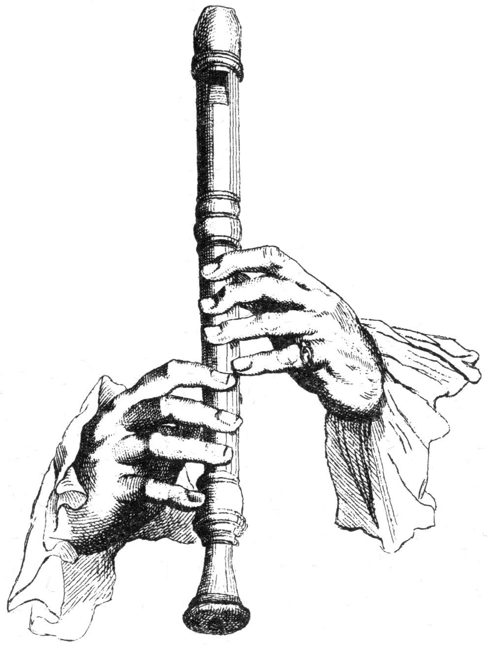 how to play the hand flute