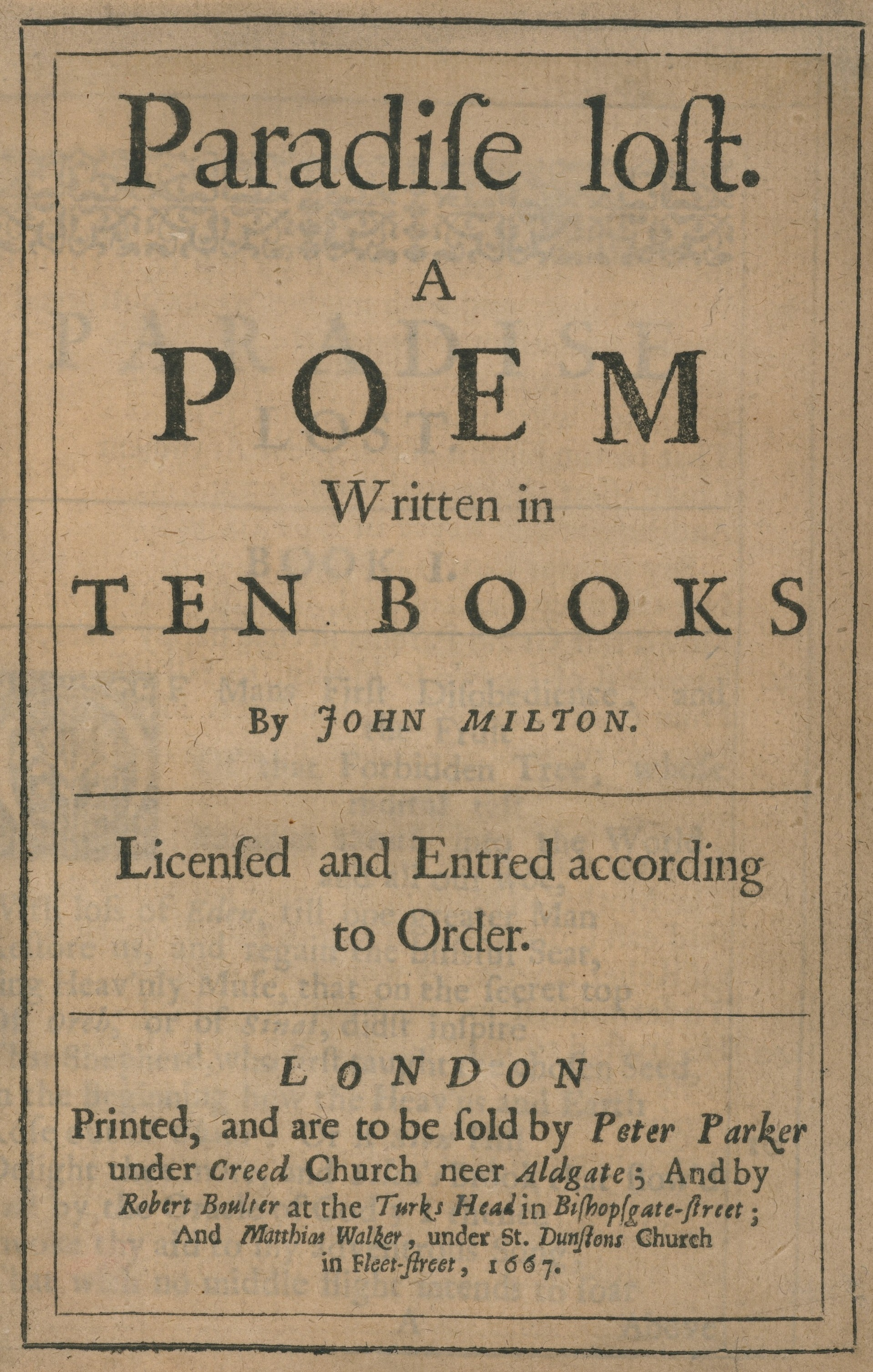 milton the poet essay John milton (9 december 1608 – 8 november 1674) also known as 'the renaissance poet' was born in london on december 9, 1608, as a son of the composer john.