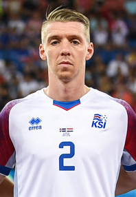 Iceland national football team World Cup 2018 (cropped) Sævarsson.jpg