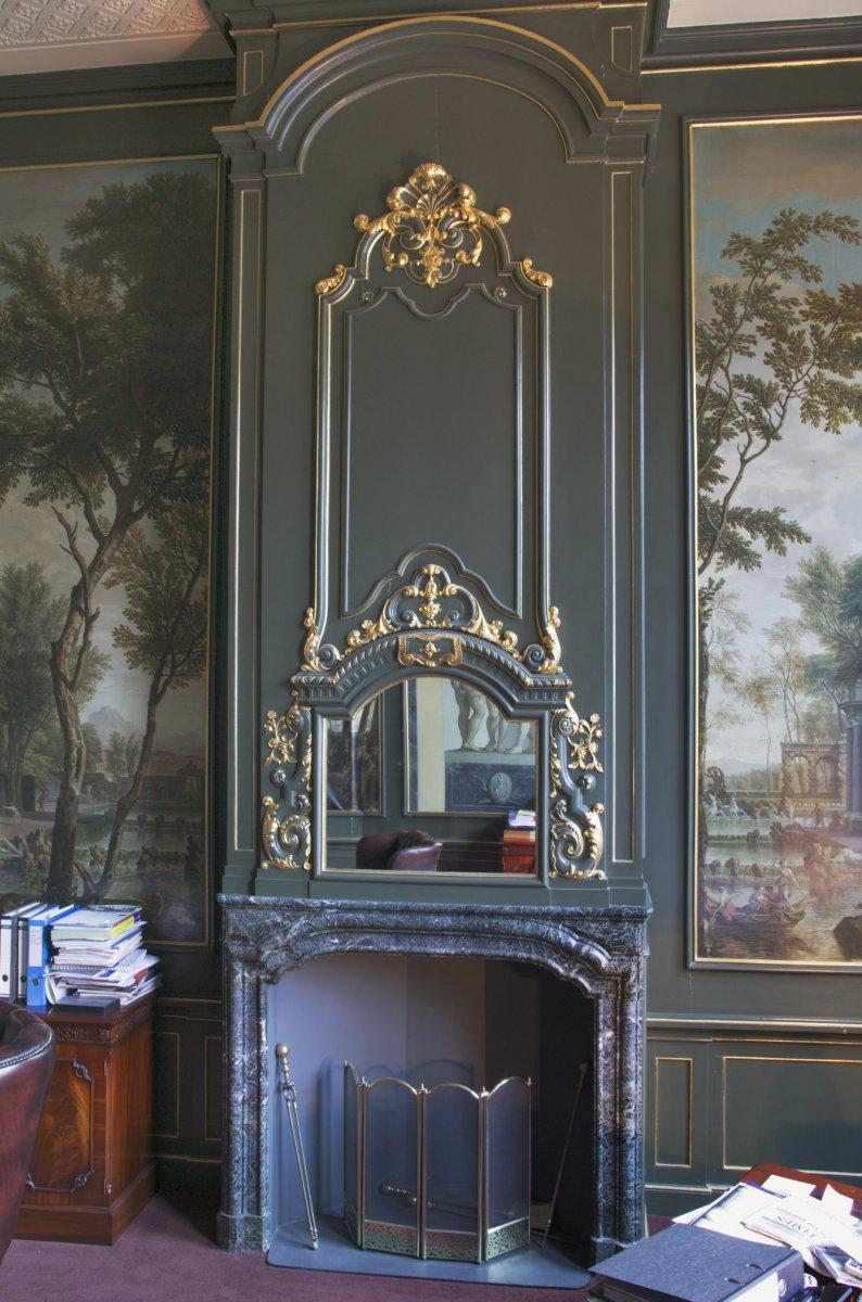 File interieur kamer overzicht schoorsteenboezem for Kamer interieur