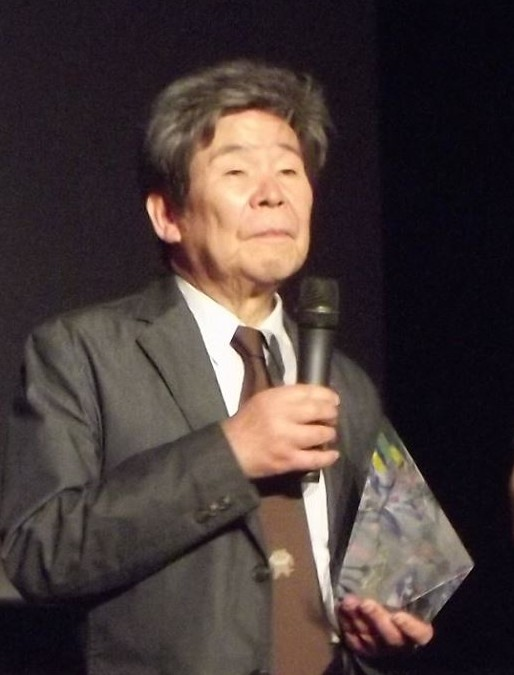 Takahata at the 2014 [[Annecy International Animated Film Festival]]