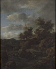 J.I. van Ruisdael - Rotslandschap met waterval - NK2634 - Cultural Heritage Agency of the Netherlands Art Collection (cropped).jpg