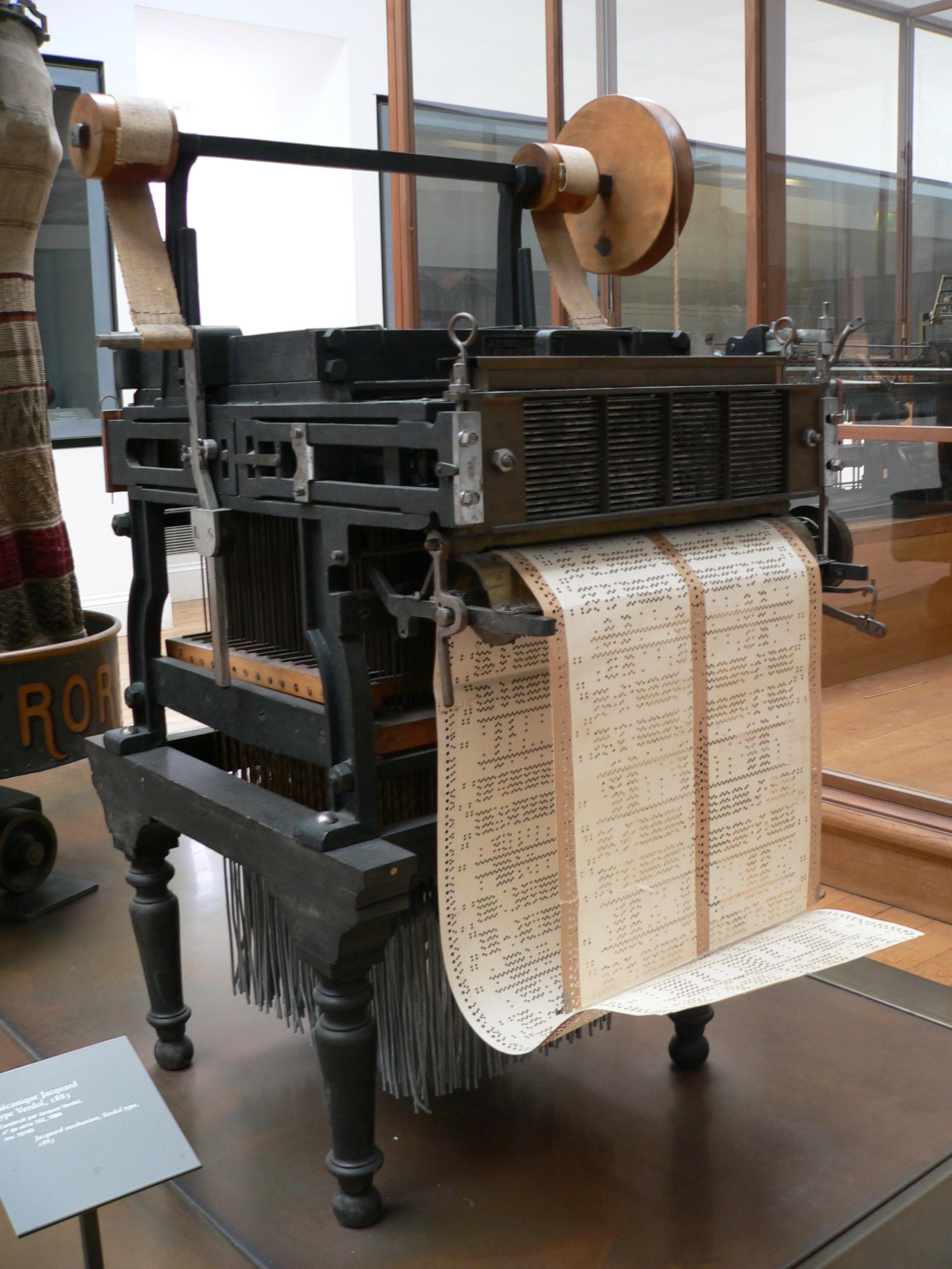File:Jacquard loom p1040320.jpg - Wikimedia Commons