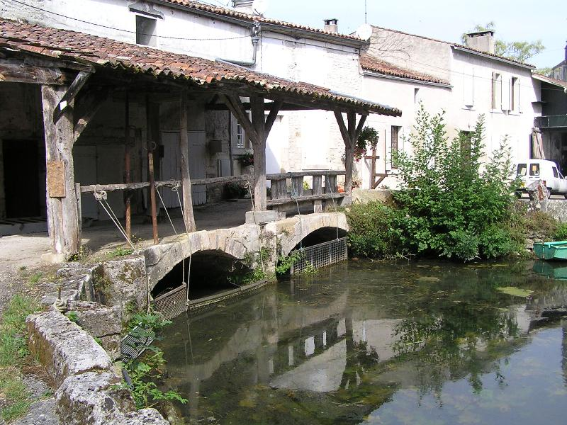 Rivière l'Antenne à Javrezac