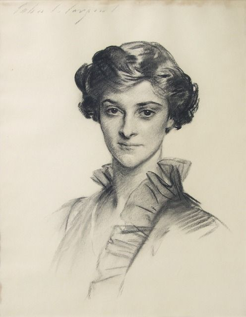Portrait of Ruth Draper by John Singer Sargent, 1913