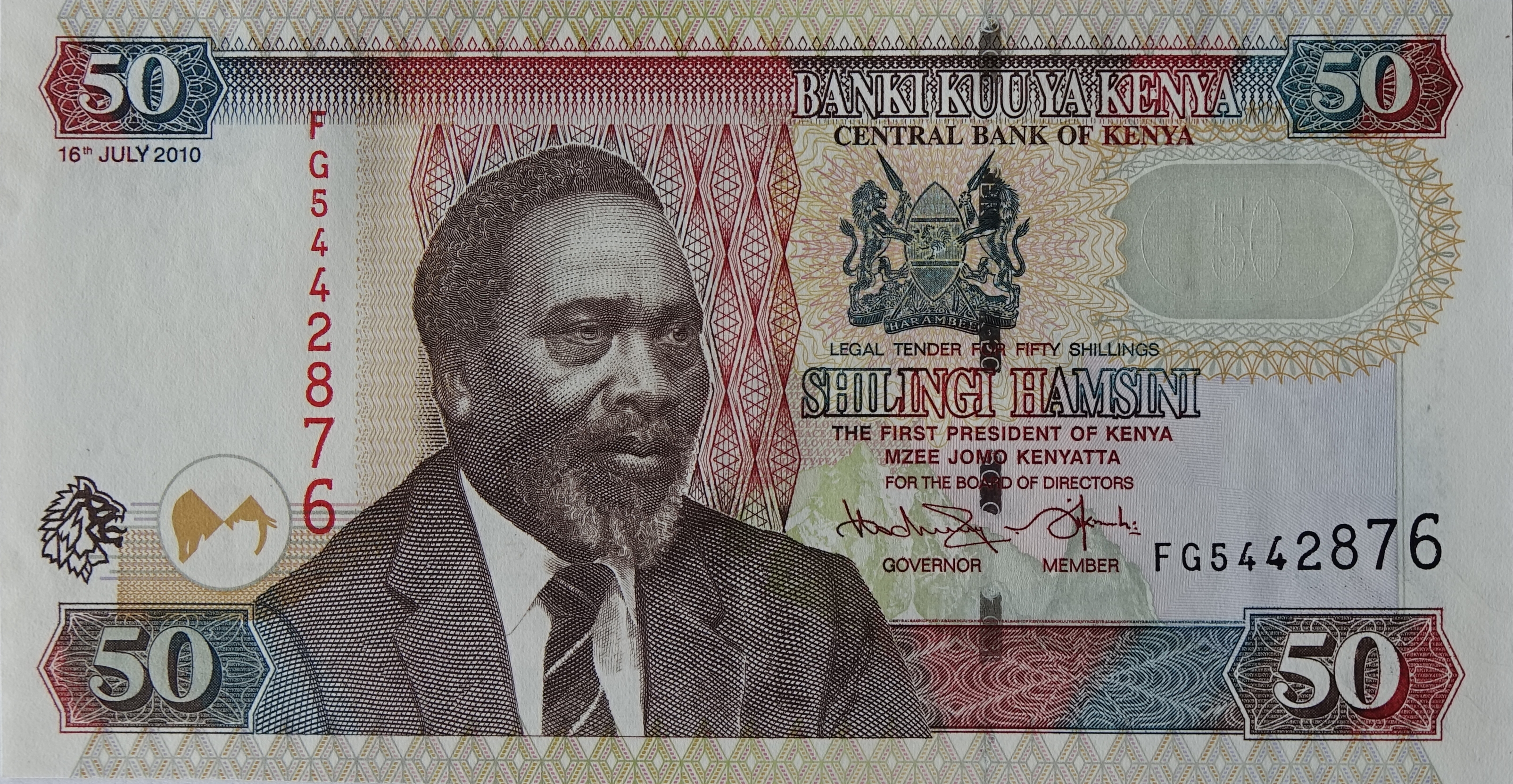 Kenyan shilling - Wikipedia