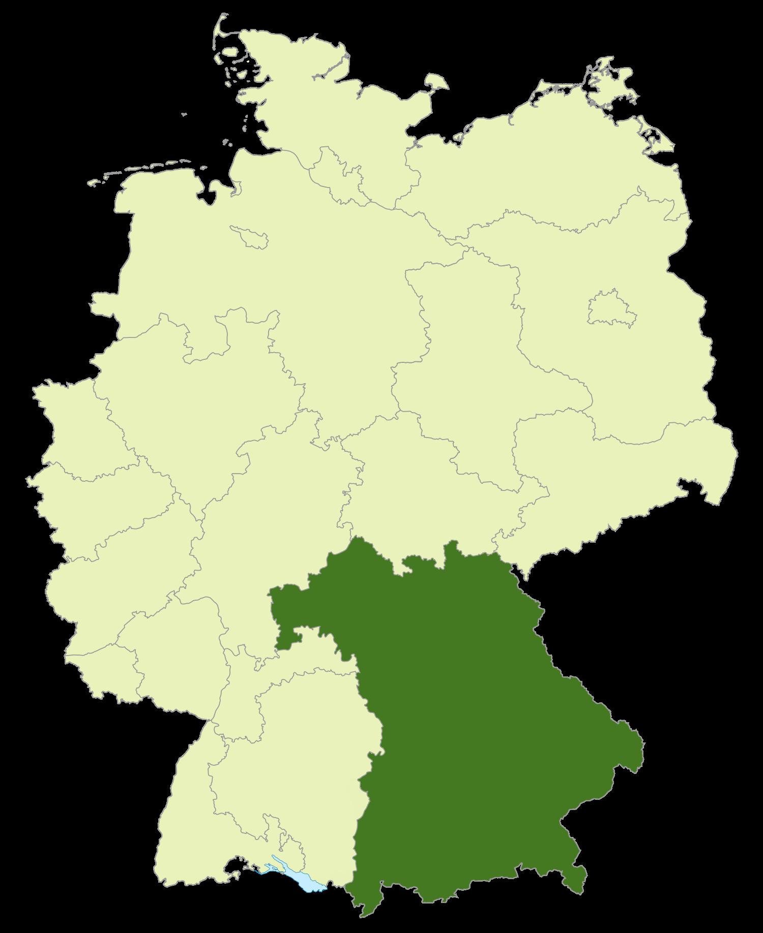 Abkürzung Bayern