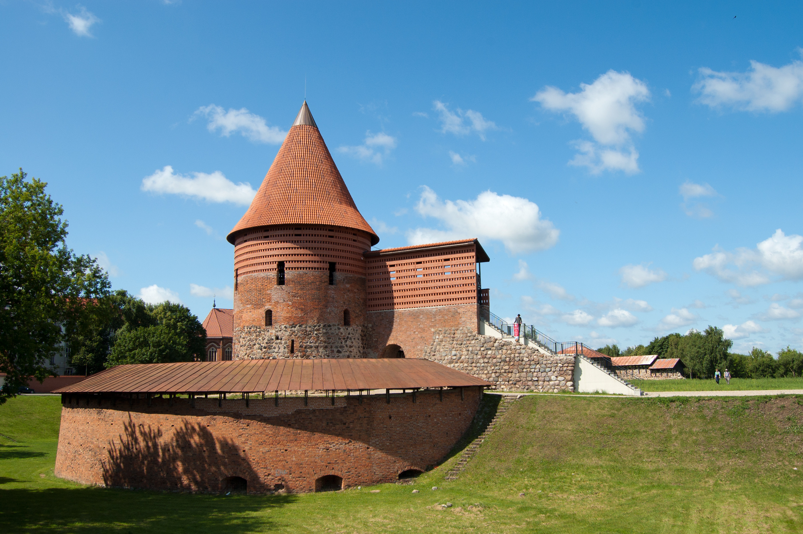 Kaunas Lithuania  City new picture : Description Kaunas Castle, Lithuania