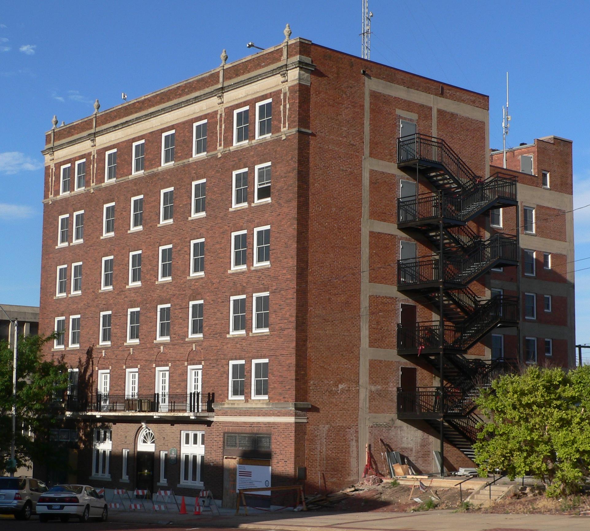 File Keystone Hotel Mccook Nebraska From Ne 1 Jpg