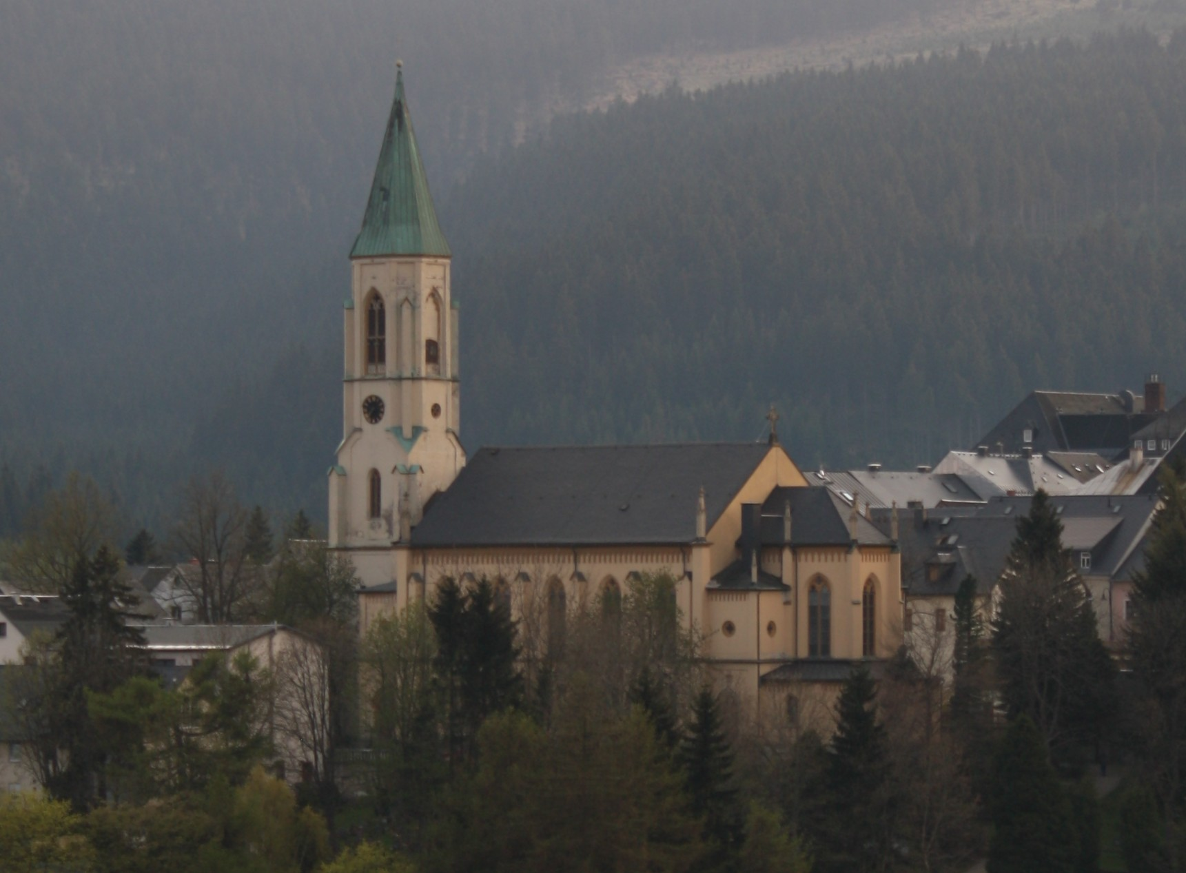 Oberwiesenthal Germany  city photos gallery : Kirche Oberwiesenthal Wikimedia Commons