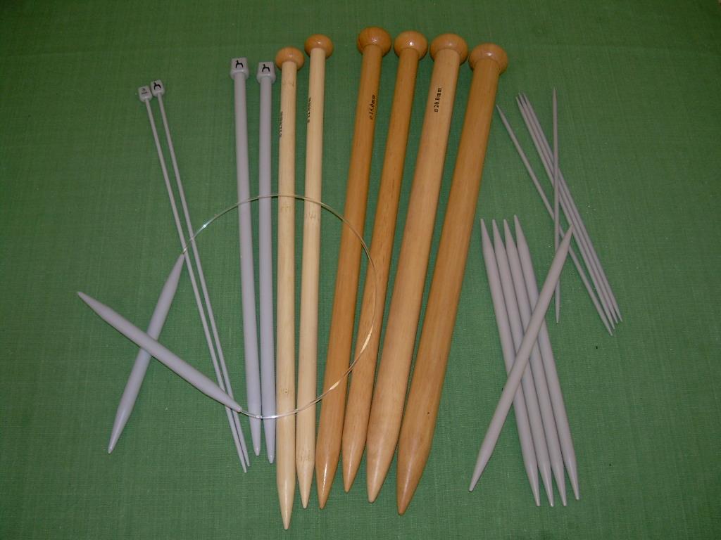 knitting needle wikidata