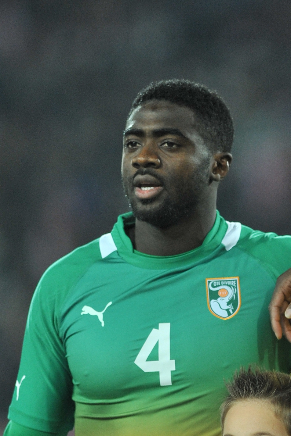 The 37-year old son of father Mory Touré and mother(?) Kolo Touré in 2018 photo. Kolo Touré earned a  million dollar salary - leaving the net worth at 10 million in 2018